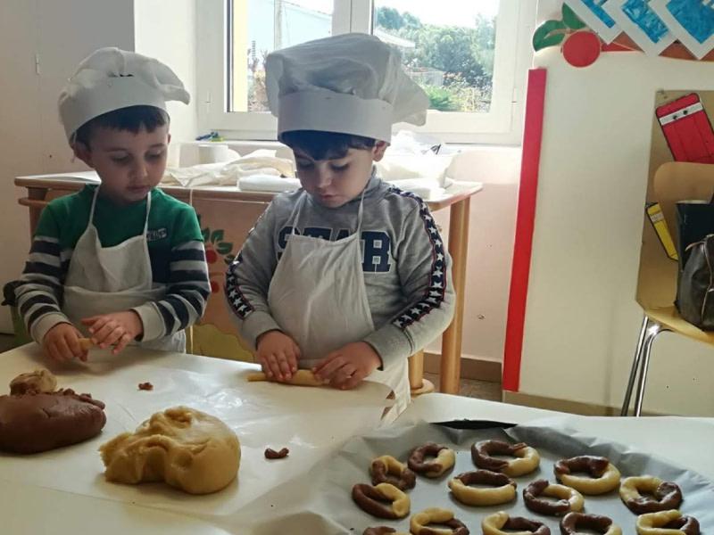 laboratorio di cucina bambini