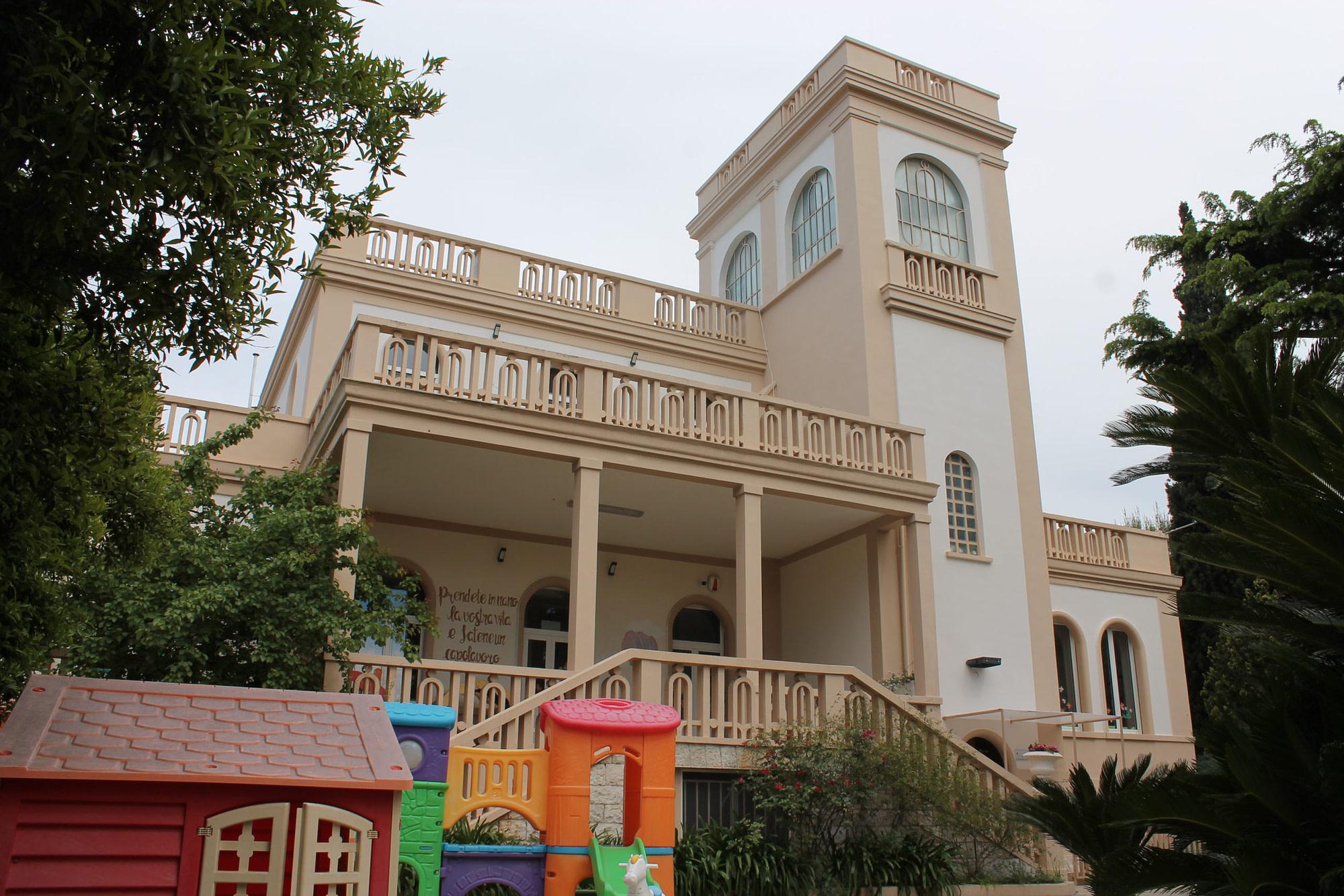 struttura scuola bari villa dei cedri